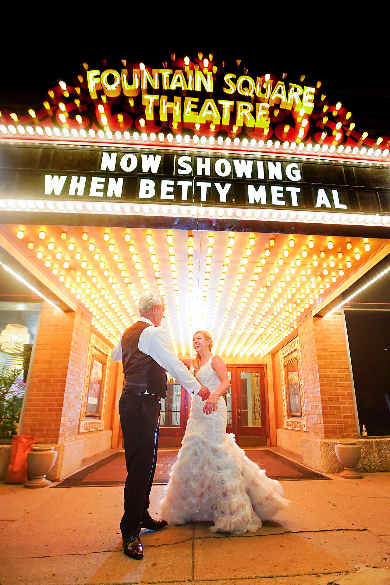 Kara Sean Fountain Square Theater Indianapolis Wedding 332