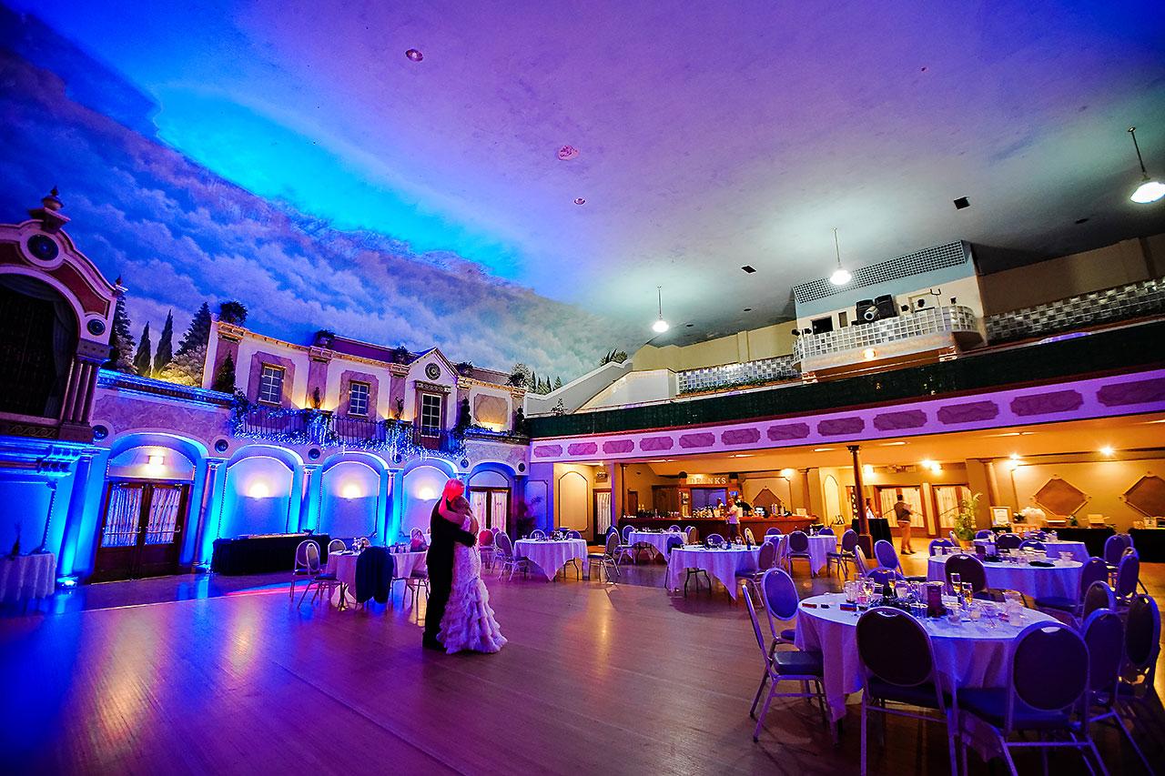 Kara Sean Fountain Square Theater Indianapolis Wedding 329