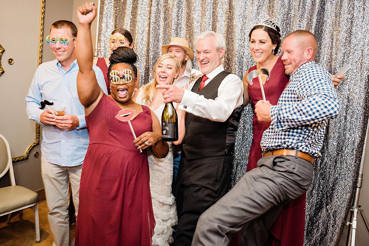 Kara Sean Fountain Square Theater Indianapolis Wedding 317