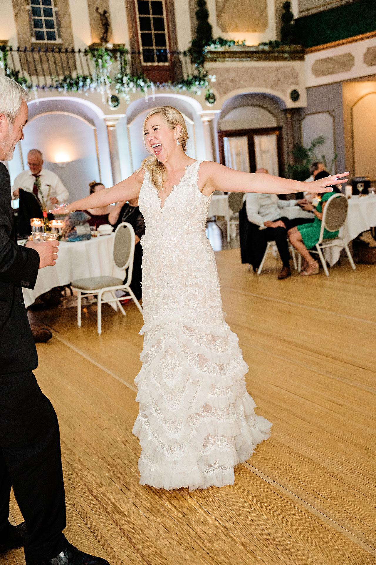 Kara Sean Fountain Square Theater Indianapolis Wedding 307