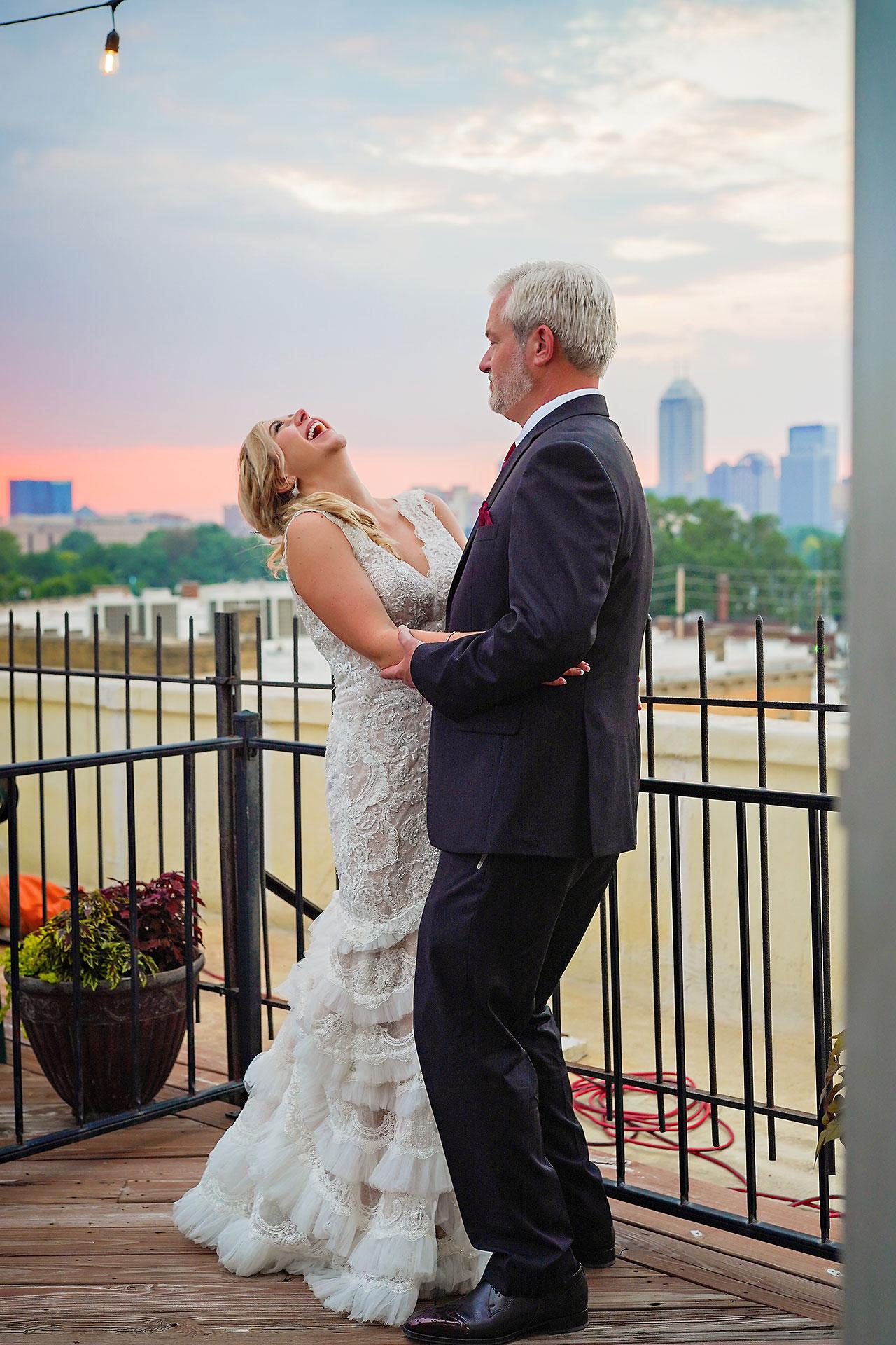 Kara Sean Fountain Square Theater Indianapolis Wedding 299