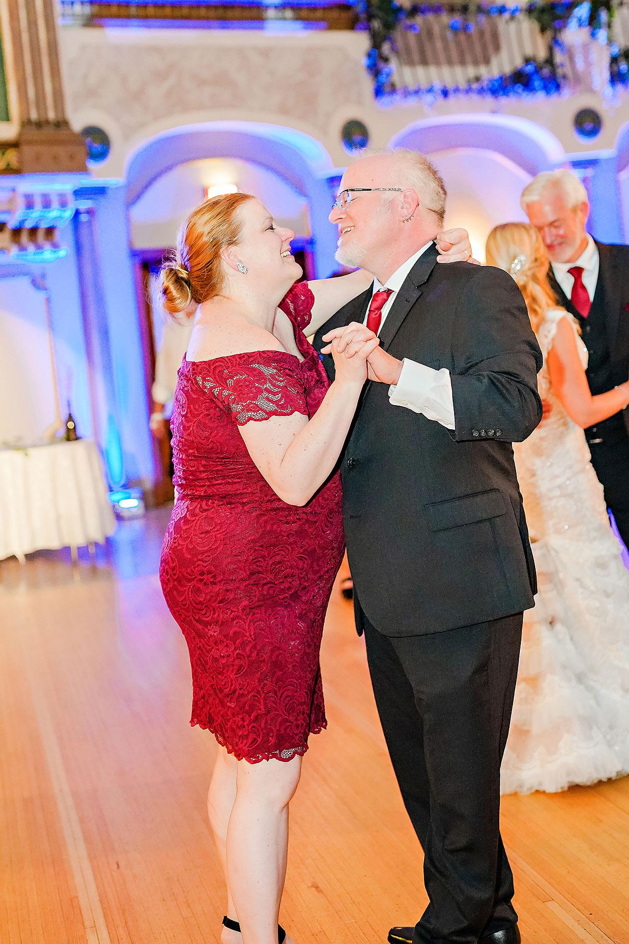 Kara Sean Fountain Square Theater Indianapolis Wedding 267
