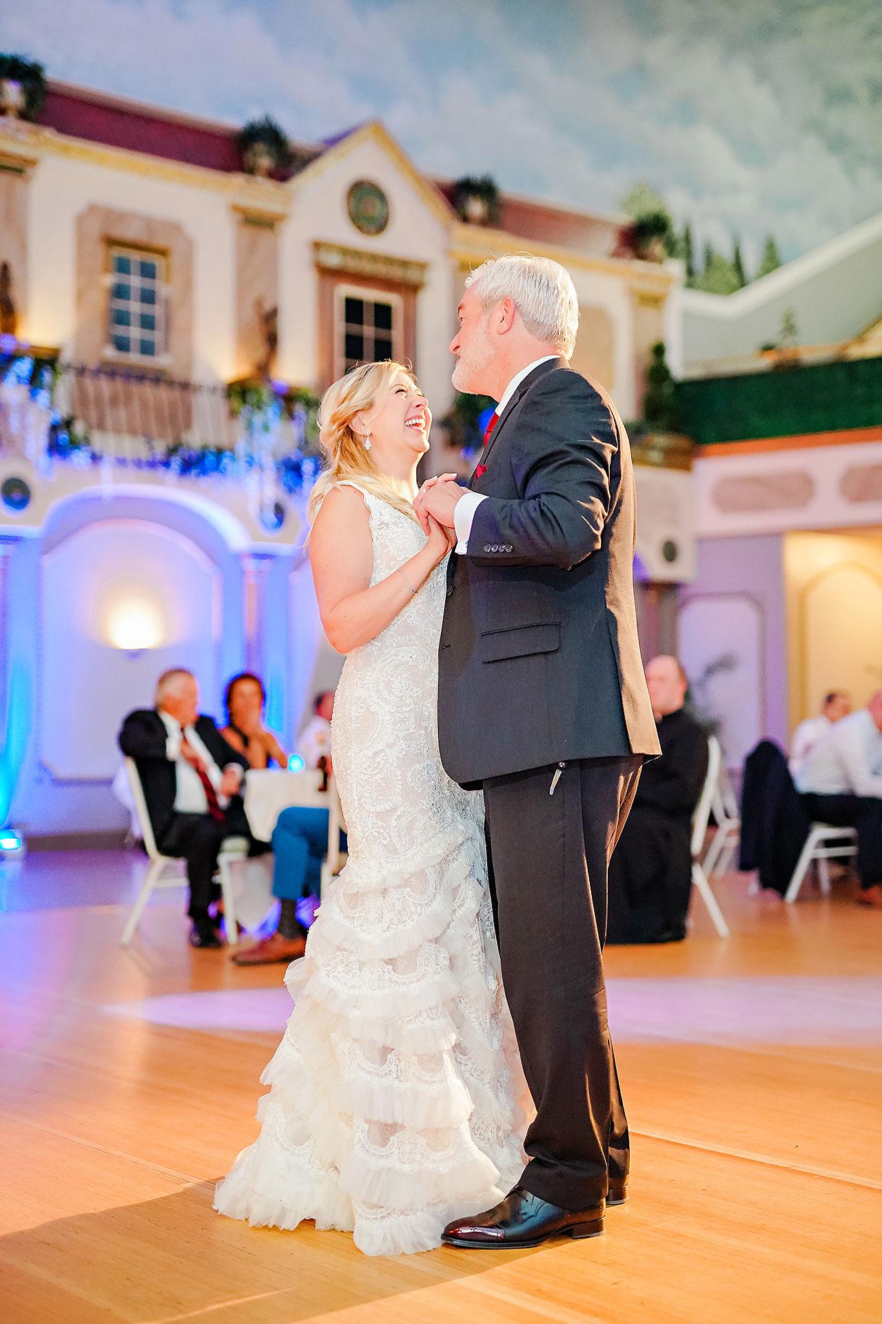 Kara Sean Fountain Square Theater Indianapolis Wedding 251