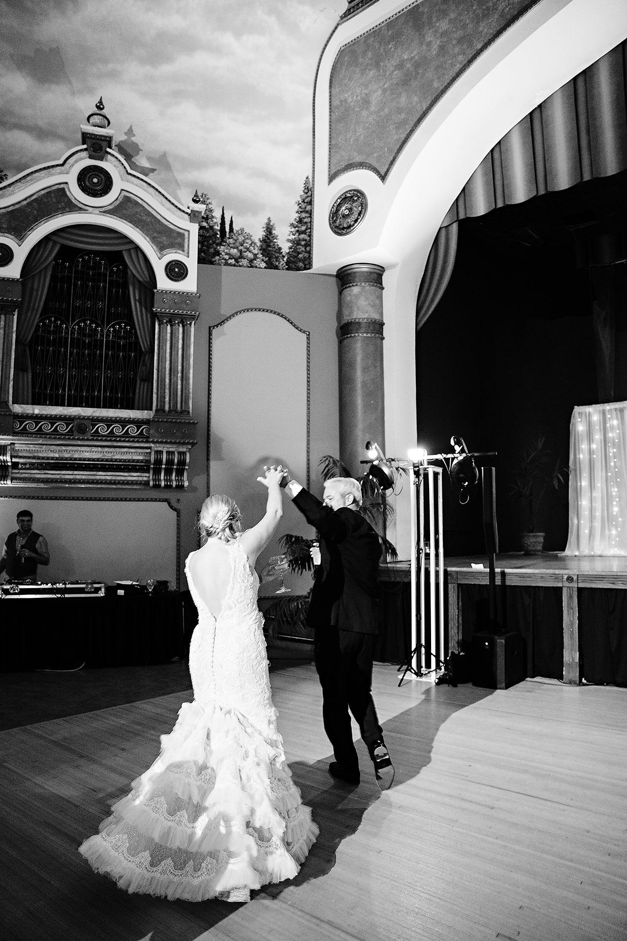 Kara Sean Fountain Square Theater Indianapolis Wedding 232