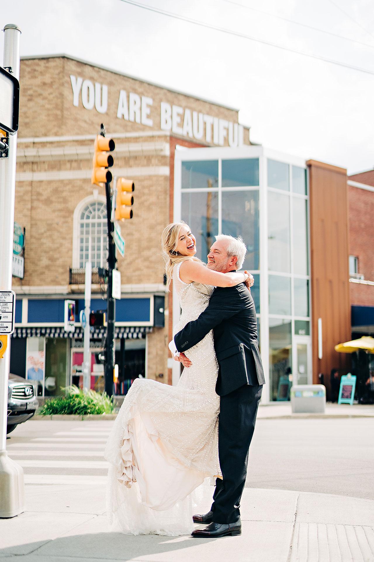 Kara Sean Fountain Square Theater Indianapolis Wedding 191