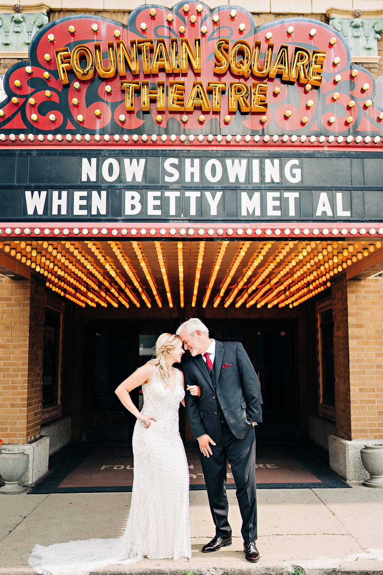 Kara Sean Fountain Square Theater Indianapolis Wedding 190