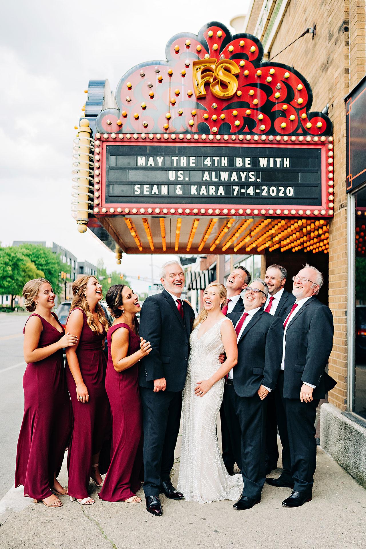 Kara Sean Fountain Square Theater Indianapolis Wedding 187
