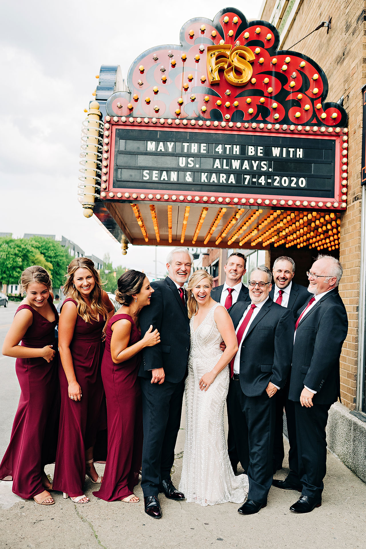 Kara Sean Fountain Square Theater Indianapolis Wedding 189
