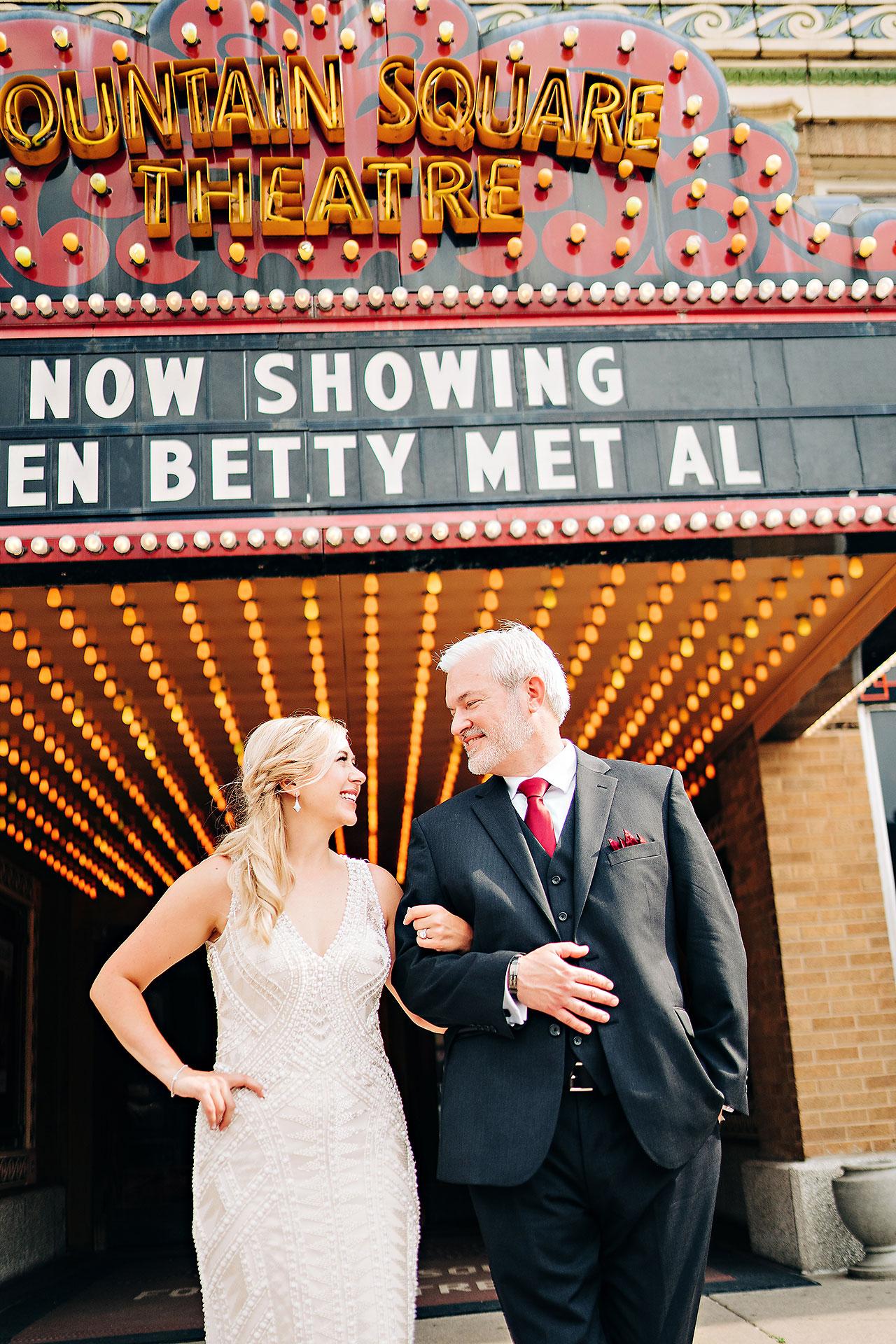 Kara Sean Fountain Square Theater Indianapolis Wedding 186