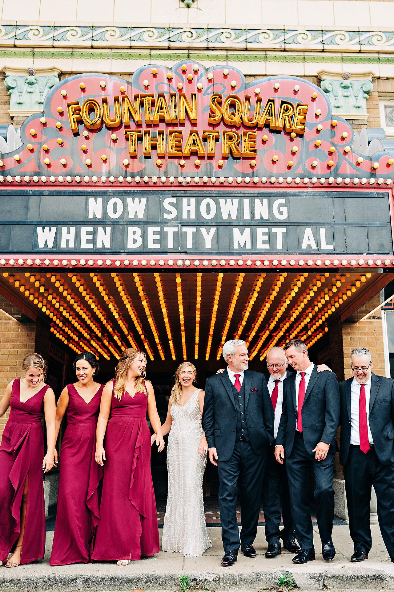 Kara Sean Fountain Square Theater Indianapolis Wedding 183