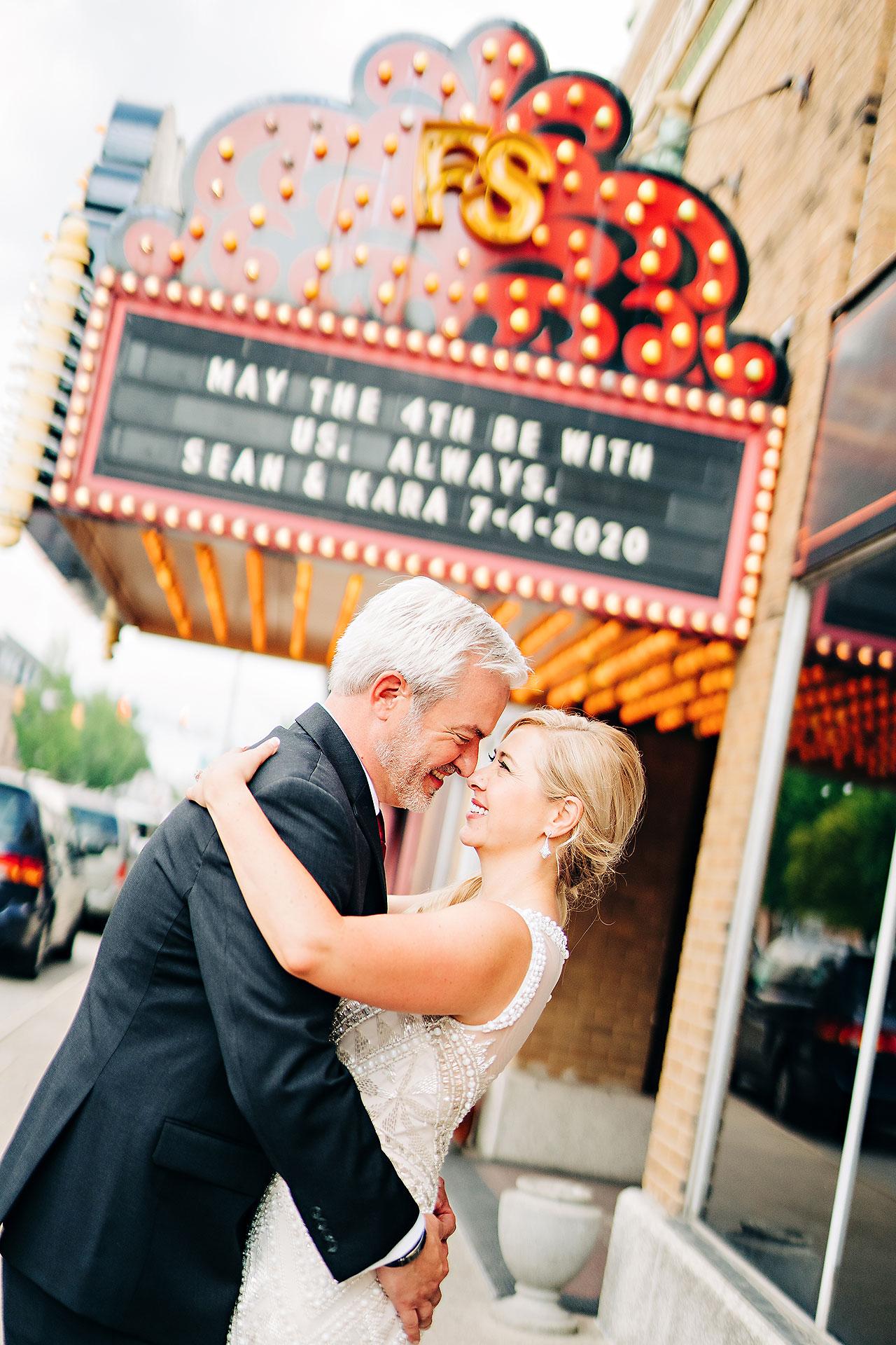 Kara Sean Fountain Square Theater Indianapolis Wedding 182