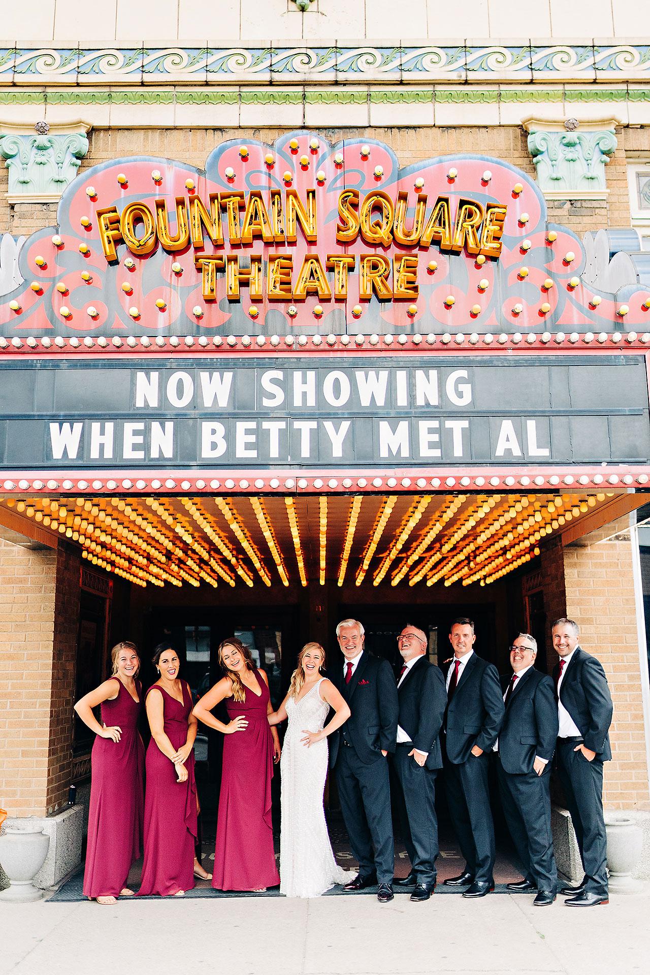 Kara Sean Fountain Square Theater Indianapolis Wedding 178