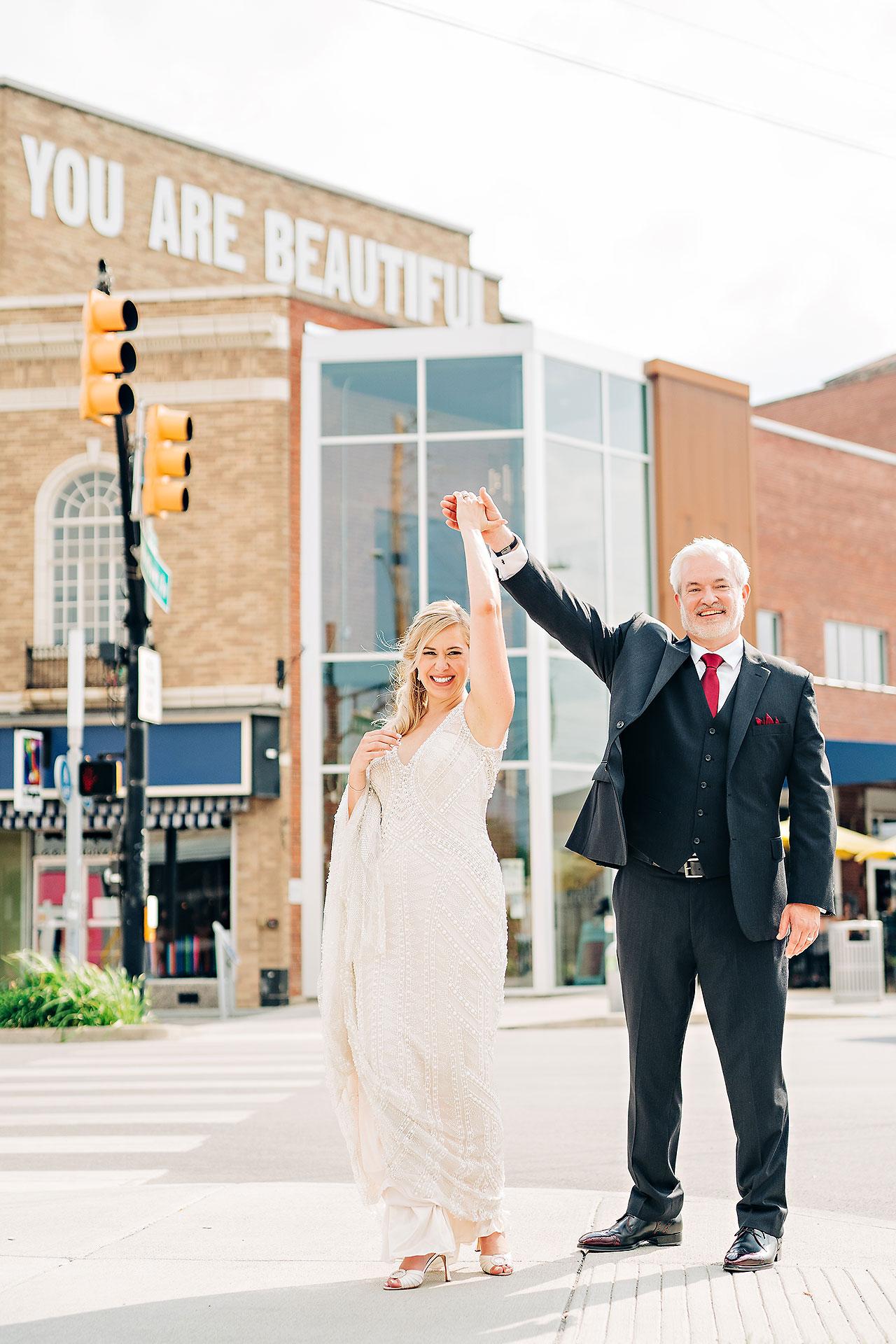 Kara Sean Fountain Square Theater Indianapolis Wedding 179