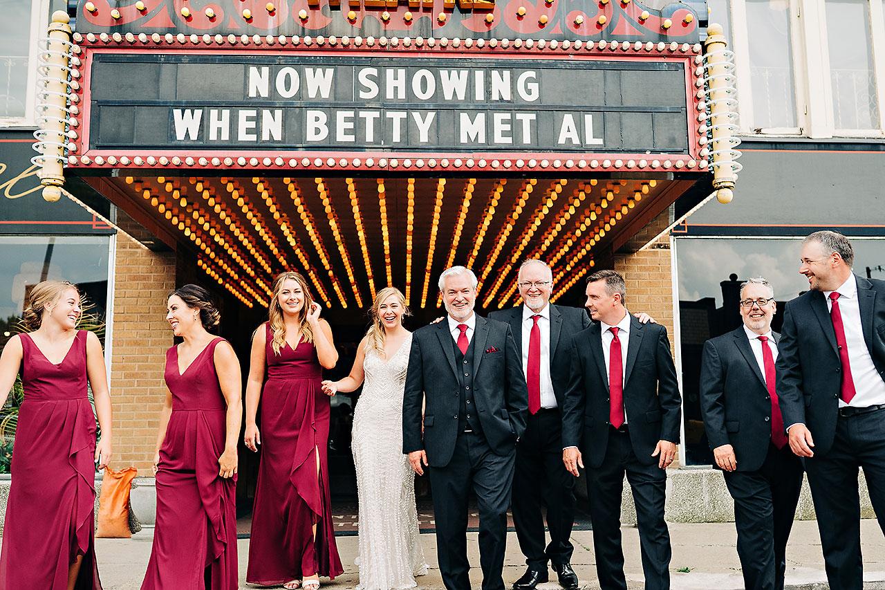 Kara Sean Fountain Square Theater Indianapolis Wedding 177