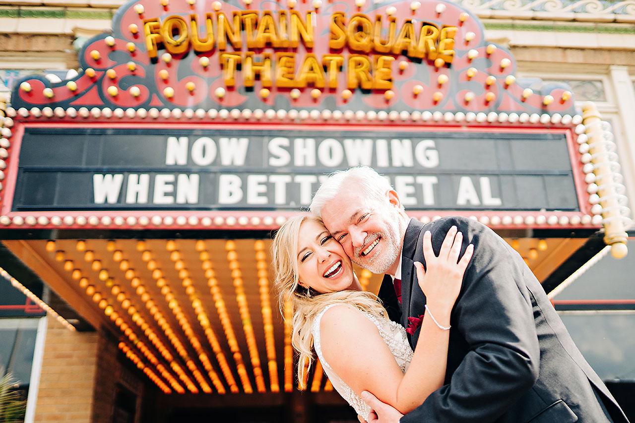 Kara Sean Fountain Square Theater Indianapolis Wedding 174