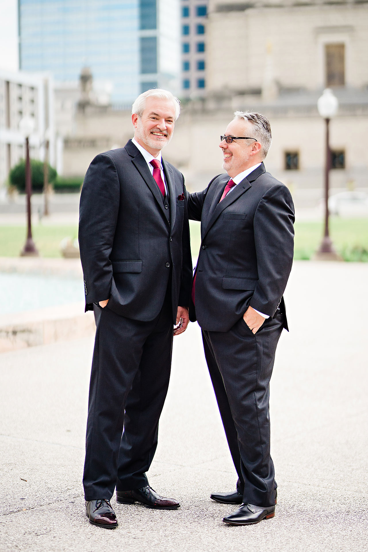 Kara Sean Fountain Square Theater Indianapolis Wedding 169