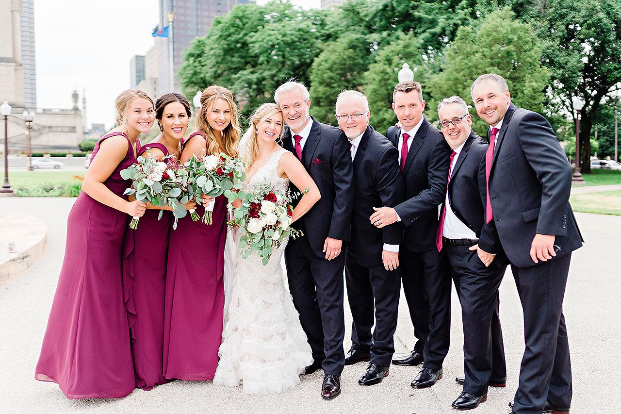 Kara Sean Fountain Square Theater Indianapolis Wedding 162