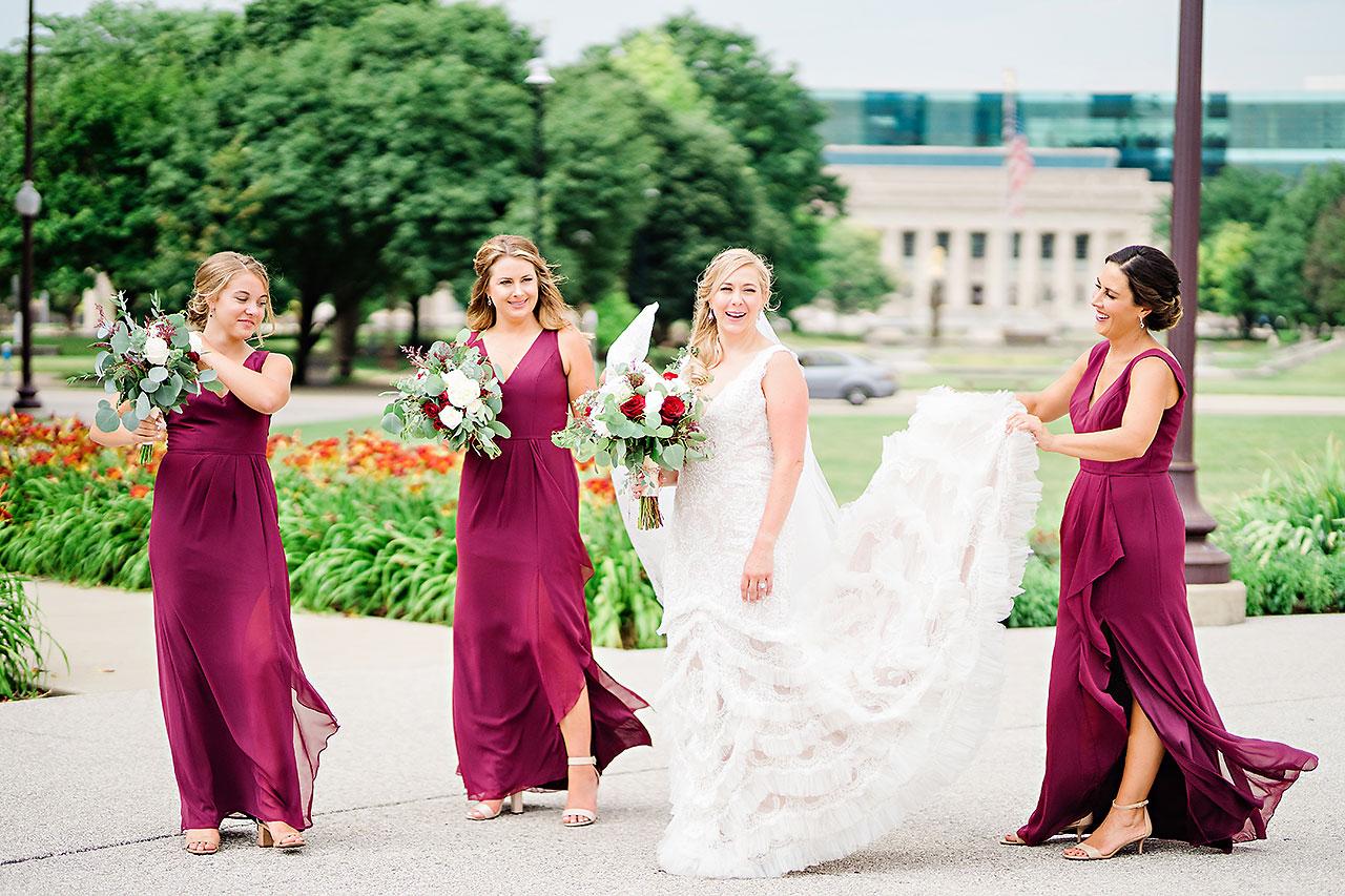 Kara Sean Fountain Square Theater Indianapolis Wedding 160