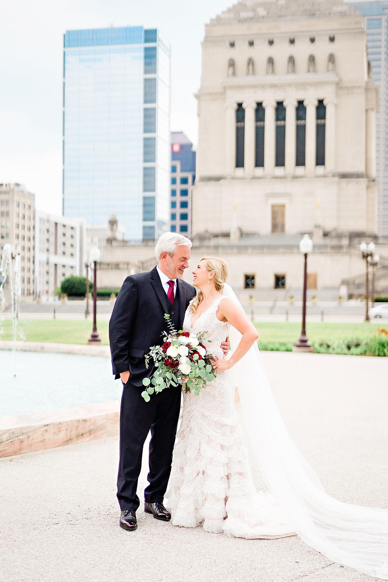 Kara Sean Fountain Square Theater Indianapolis Wedding 149