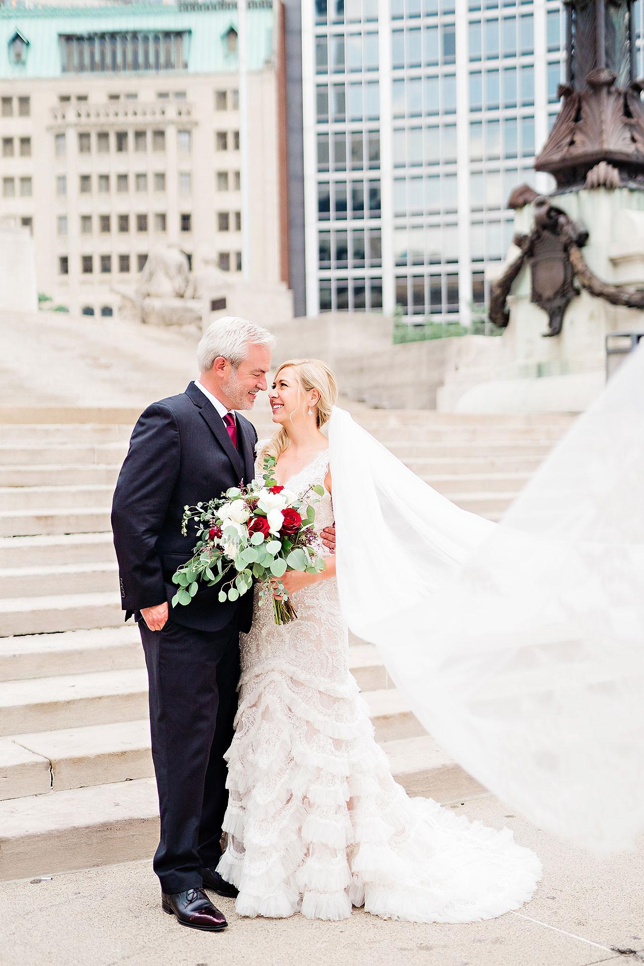 Kara Sean Fountain Square Theater Indianapolis Wedding 133