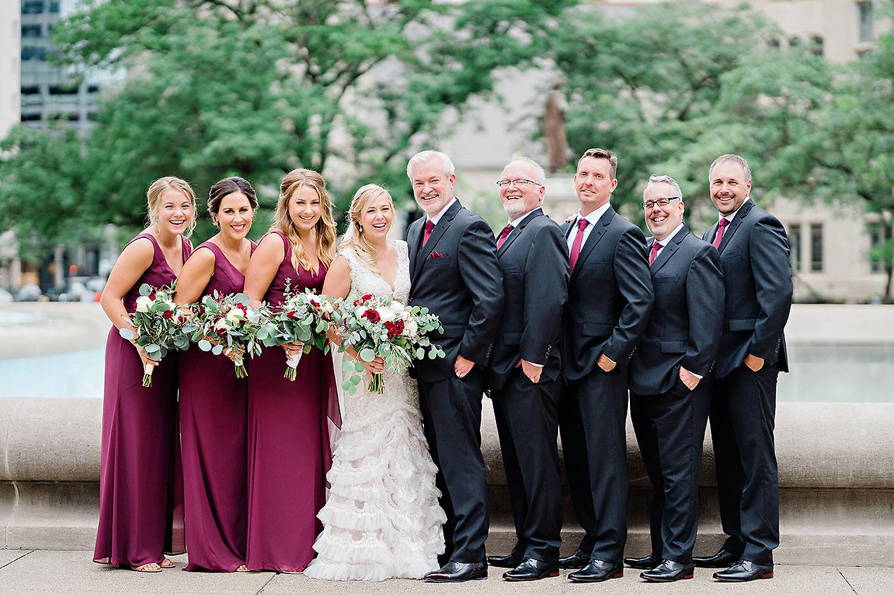 Kara Sean Fountain Square Theater Indianapolis Wedding 111