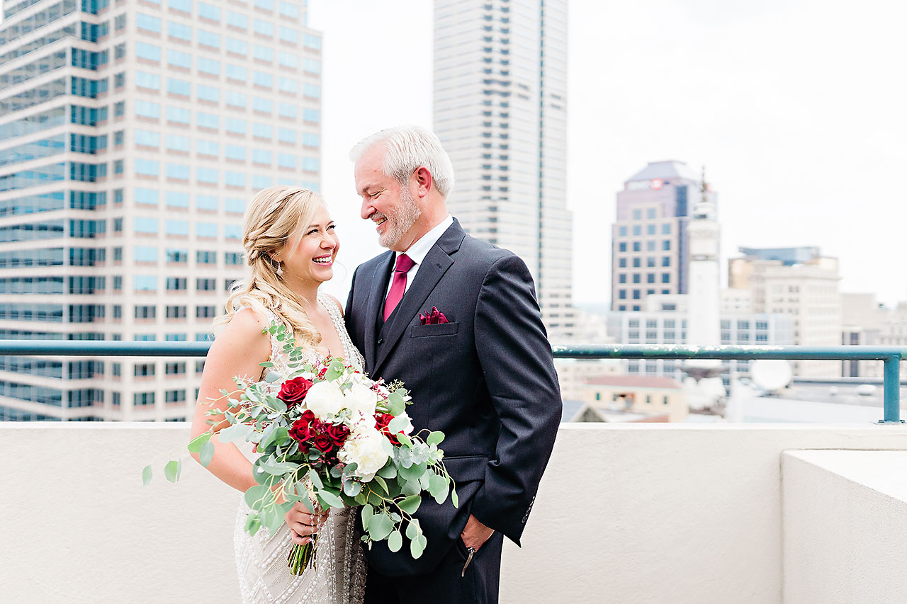 Kara Sean Fountain Square Theater Indianapolis Wedding 064