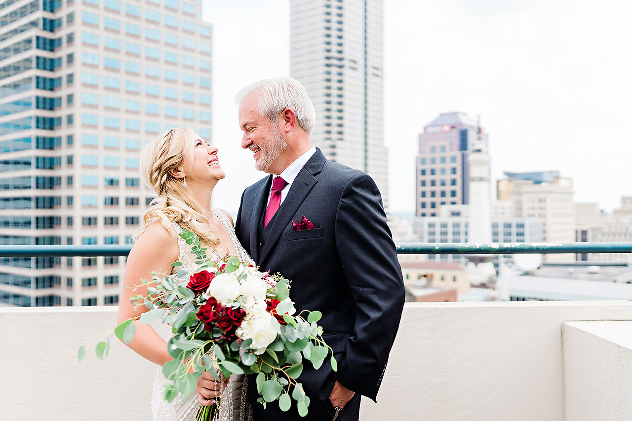 Kara Sean Fountain Square Theater Indianapolis Wedding 052