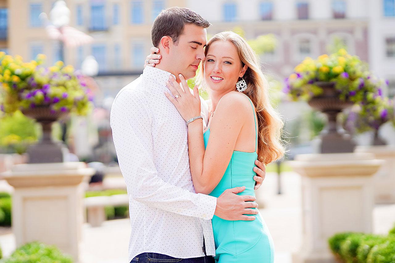 Liz Zach Midtown Carmel Engagement Session 138