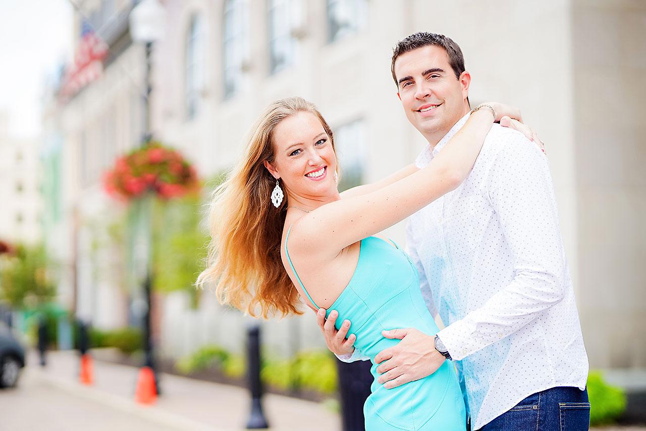 Liz Zach Midtown Carmel Engagement Session 140