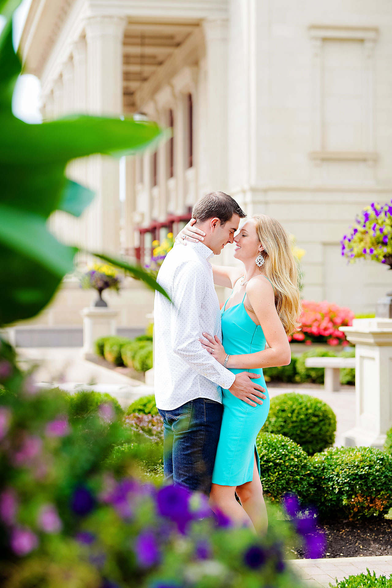 Liz Zach Midtown Carmel Engagement Session 131