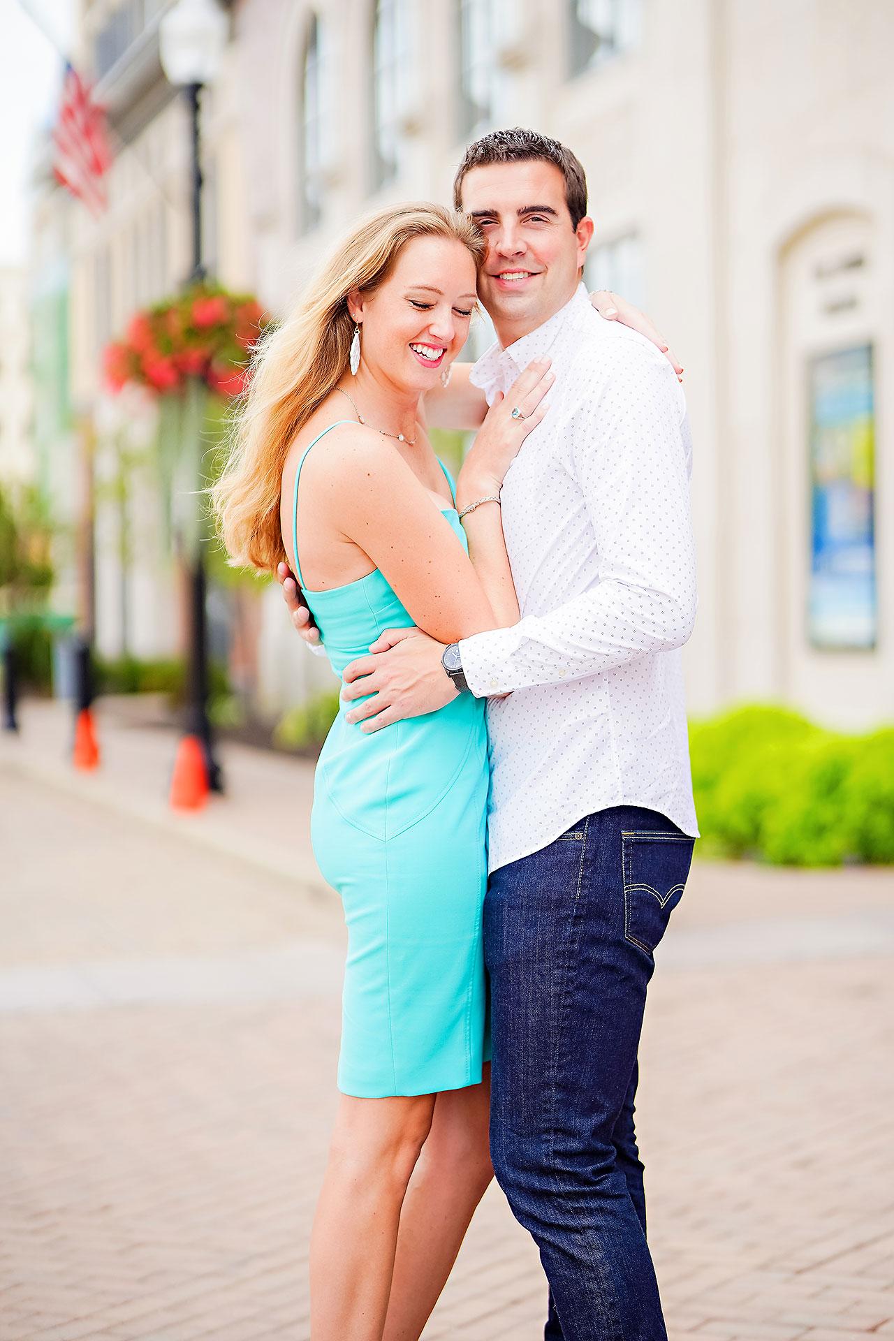 Liz Zach Midtown Carmel Engagement Session 123
