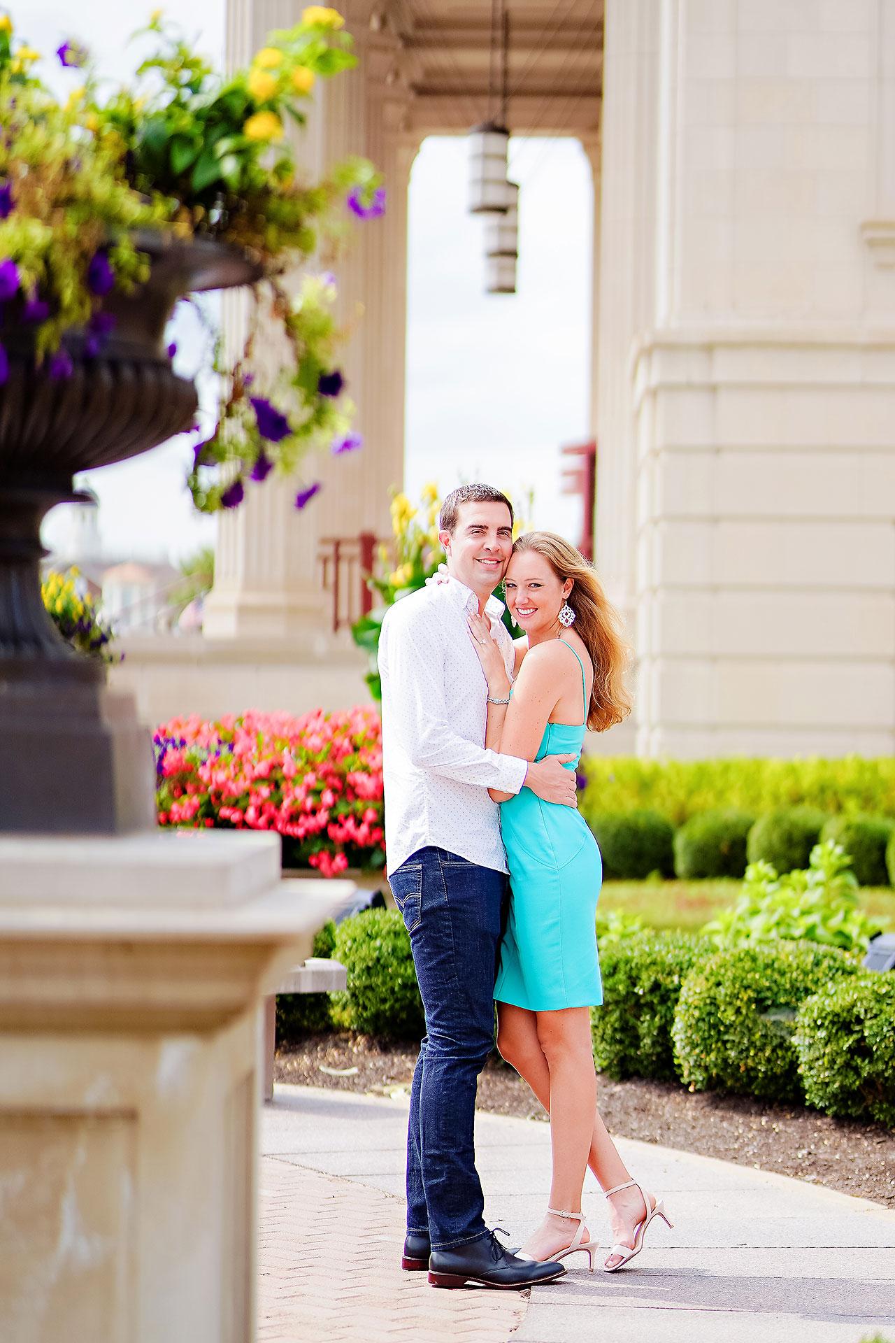 Liz Zach Midtown Carmel Engagement Session 101