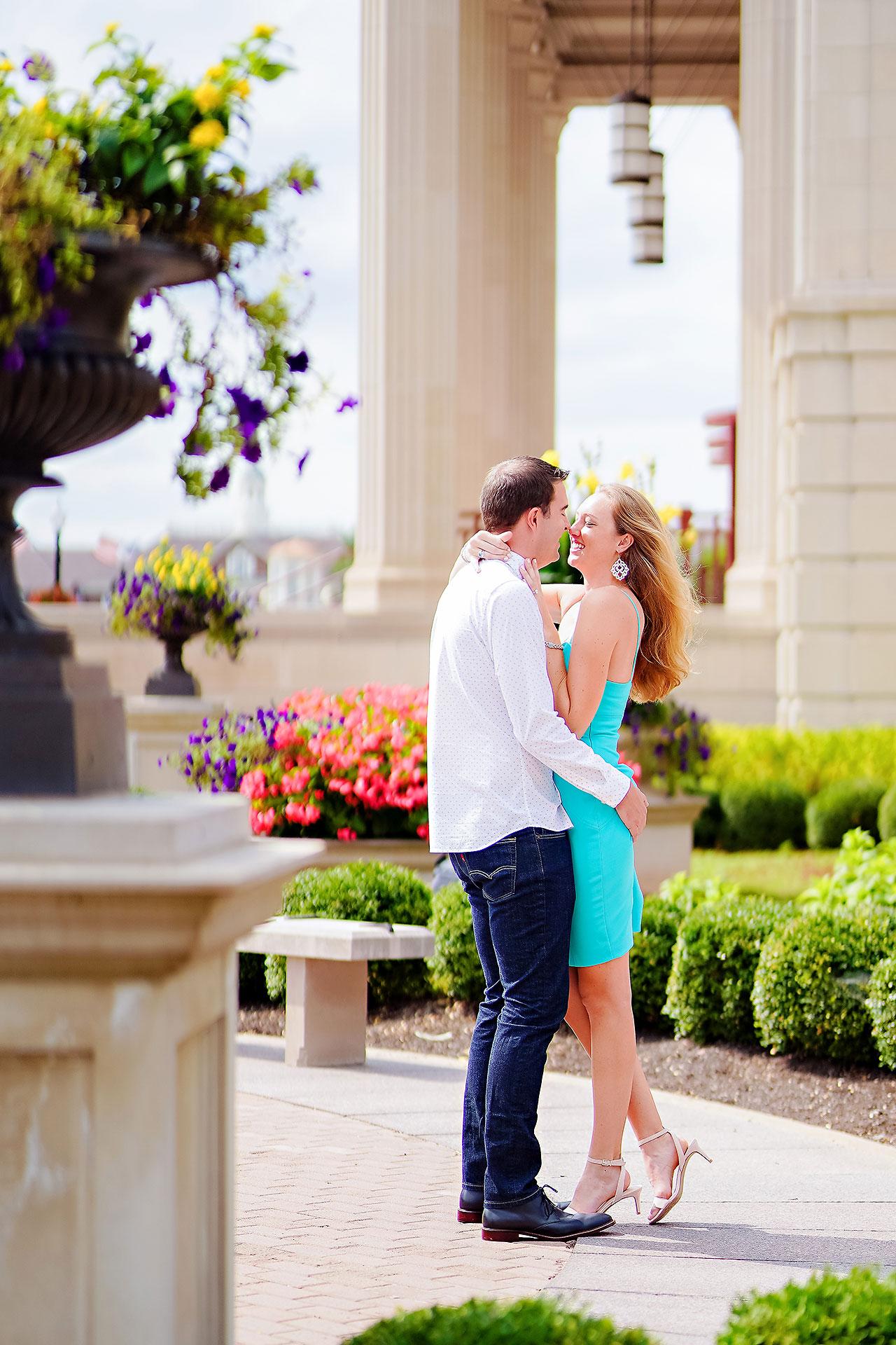 Liz Zach Midtown Carmel Engagement Session 083