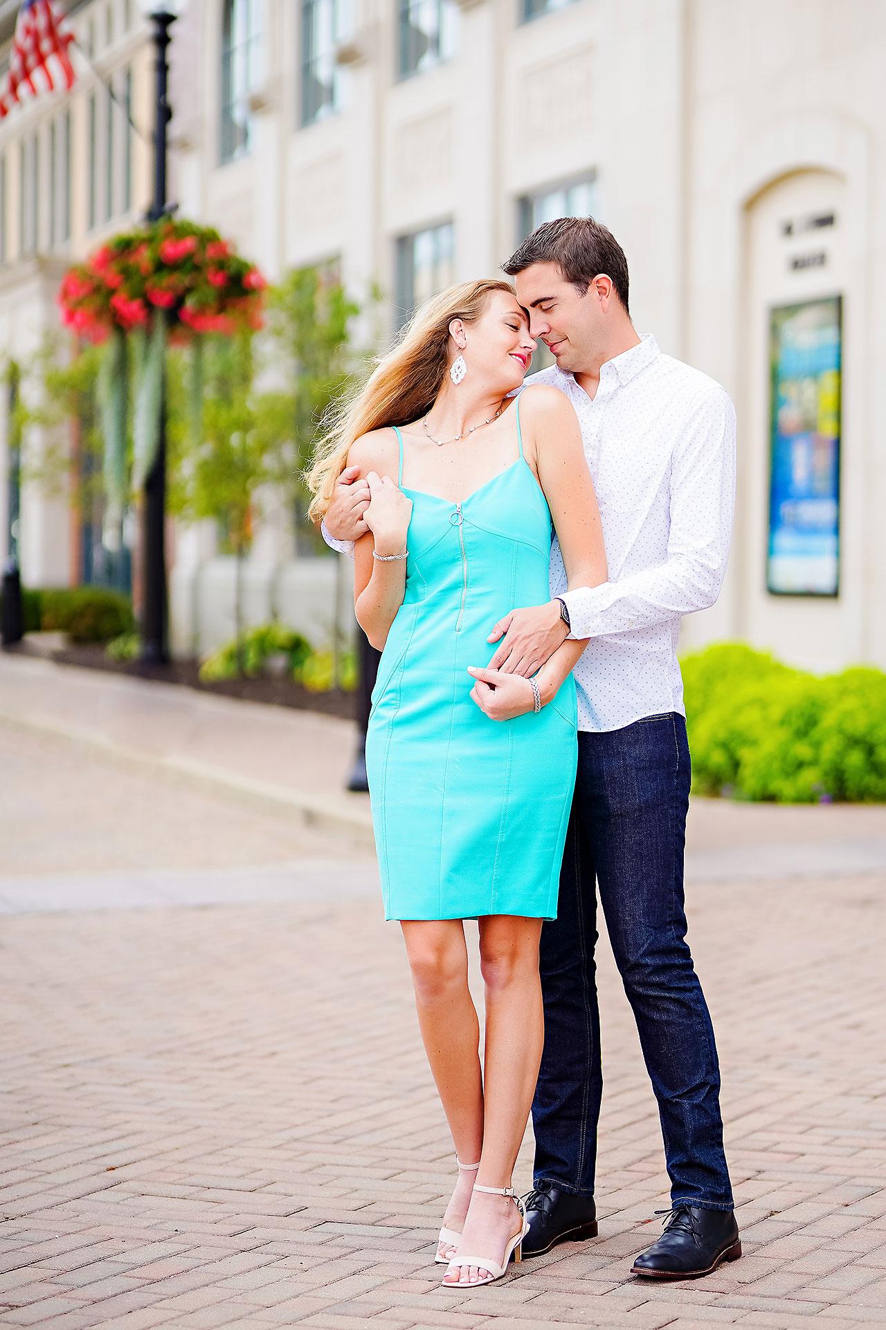 Liz Zach Midtown Carmel Engagement Session 070