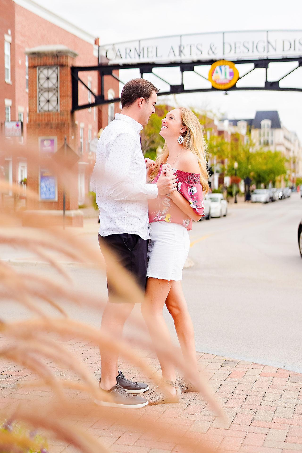 Liz Zach Midtown Carmel Engagement Session 033
