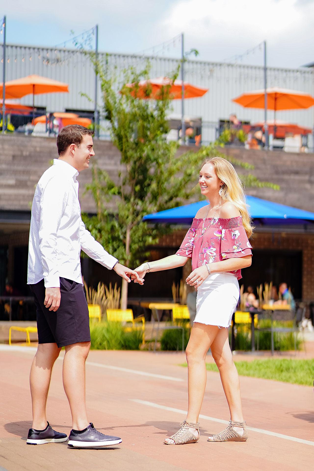 Liz Zach Midtown Carmel Engagement Session 008