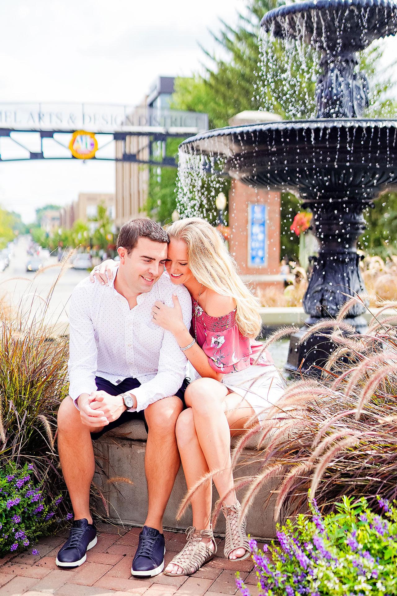 Liz Zach Midtown Carmel Engagement Session 004