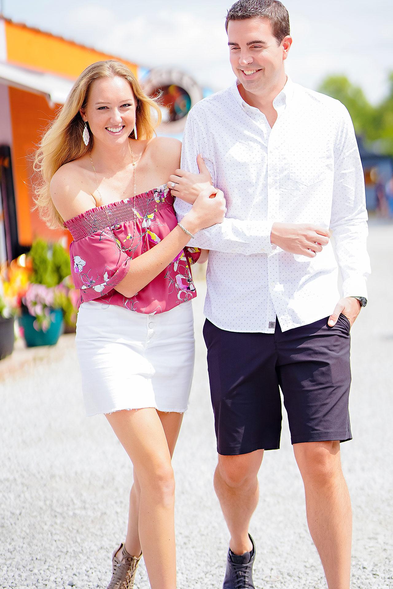 Liz Zach Midtown Carmel Engagement Session 002