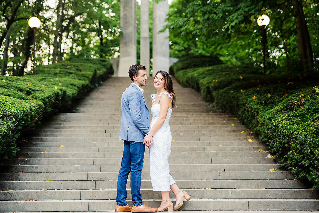 Kate Sawyer Holcomb Gardens Engagement Session 136