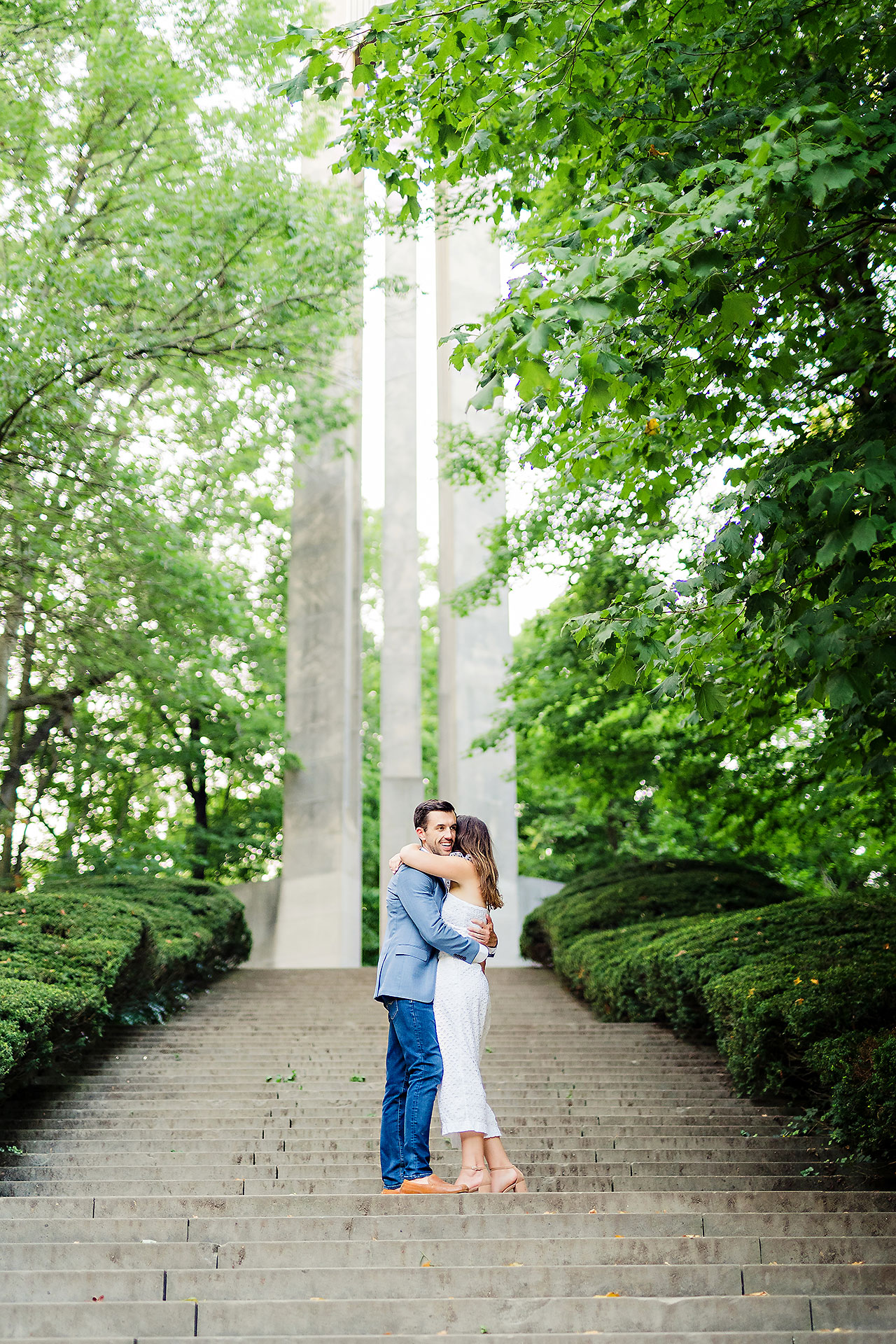Kate Sawyer Holcomb Gardens Engagement Session 134