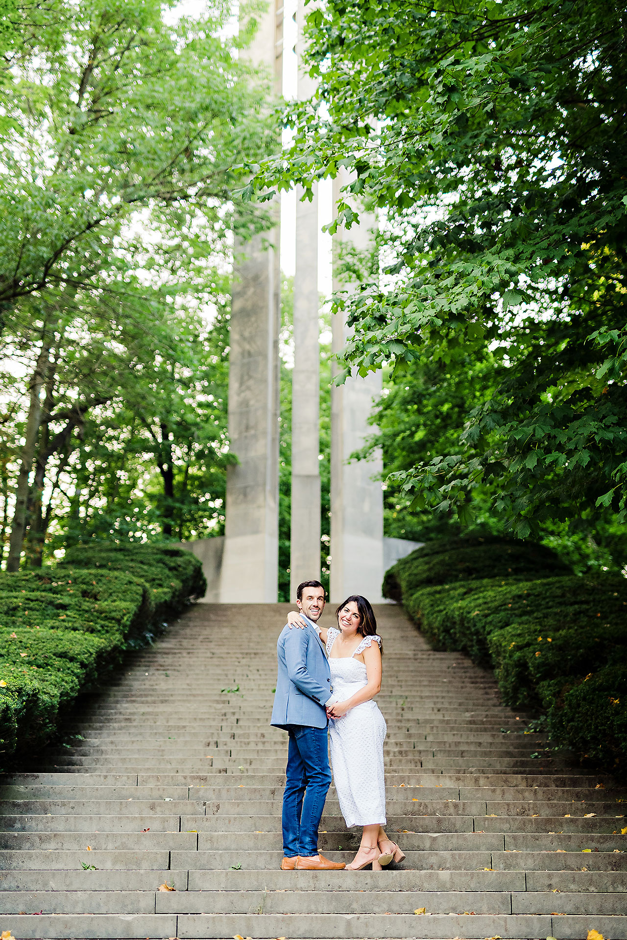 Kate Sawyer Holcomb Gardens Engagement Session 130