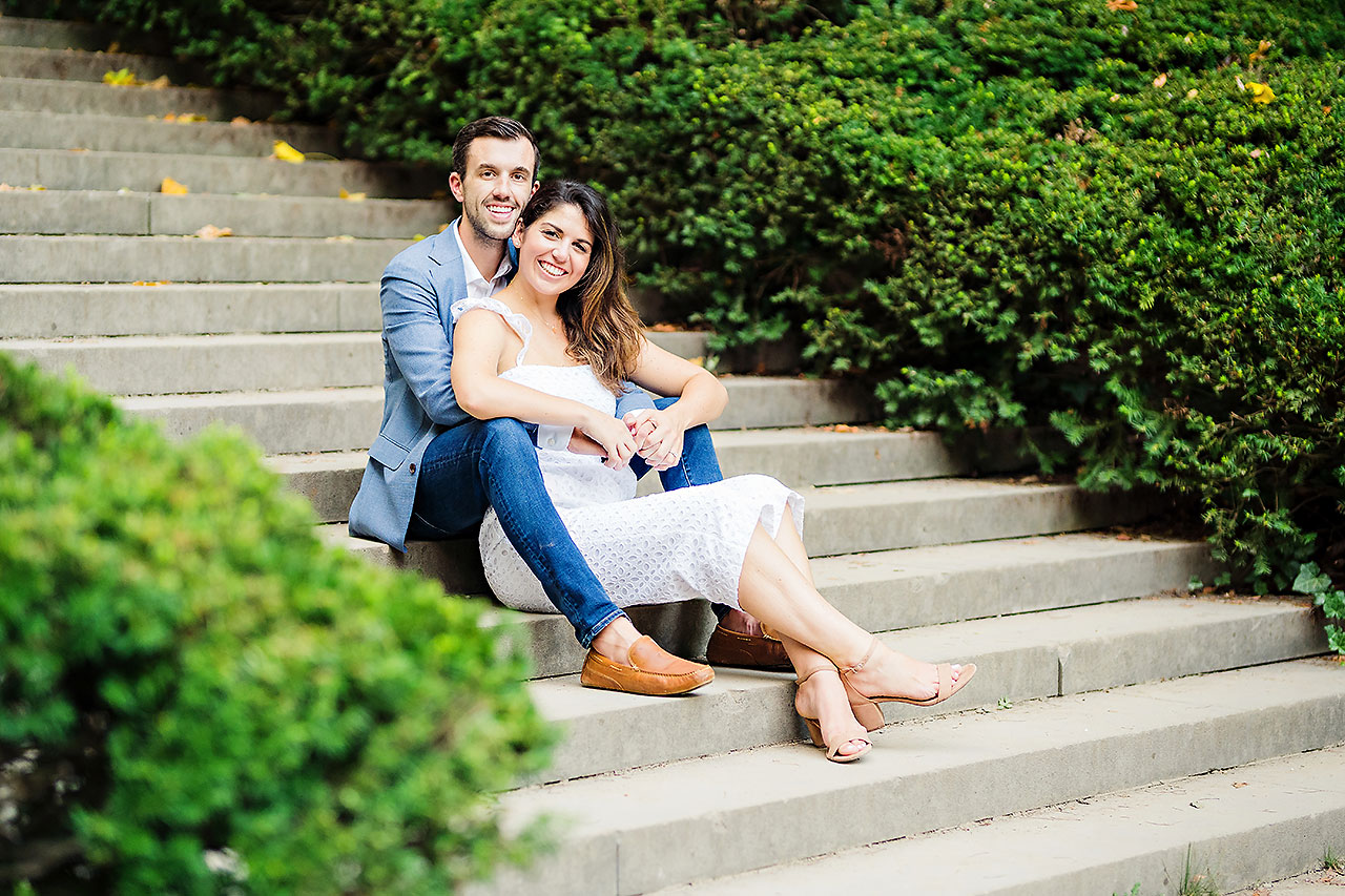 Kate Sawyer Holcomb Gardens Engagement Session 127