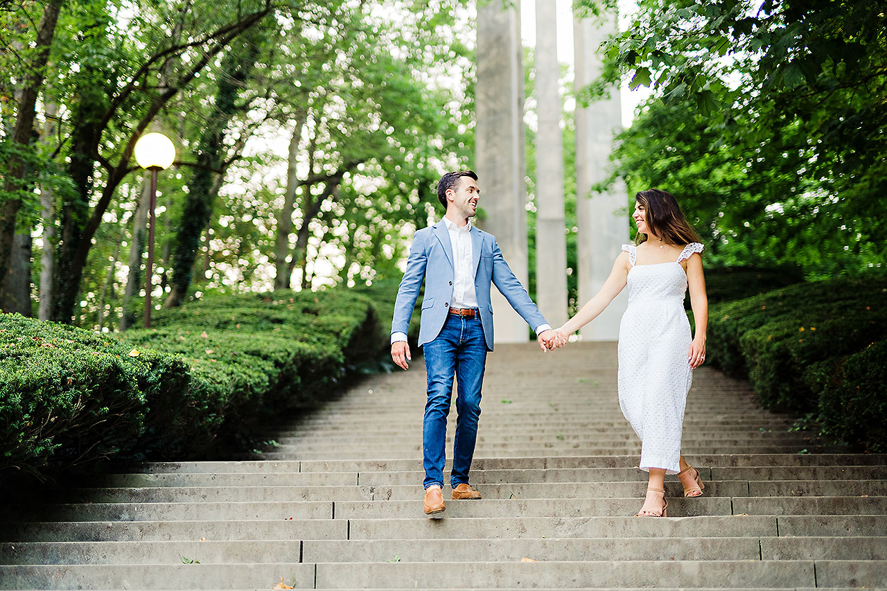 Kate Sawyer Holcomb Gardens Engagement Session 124