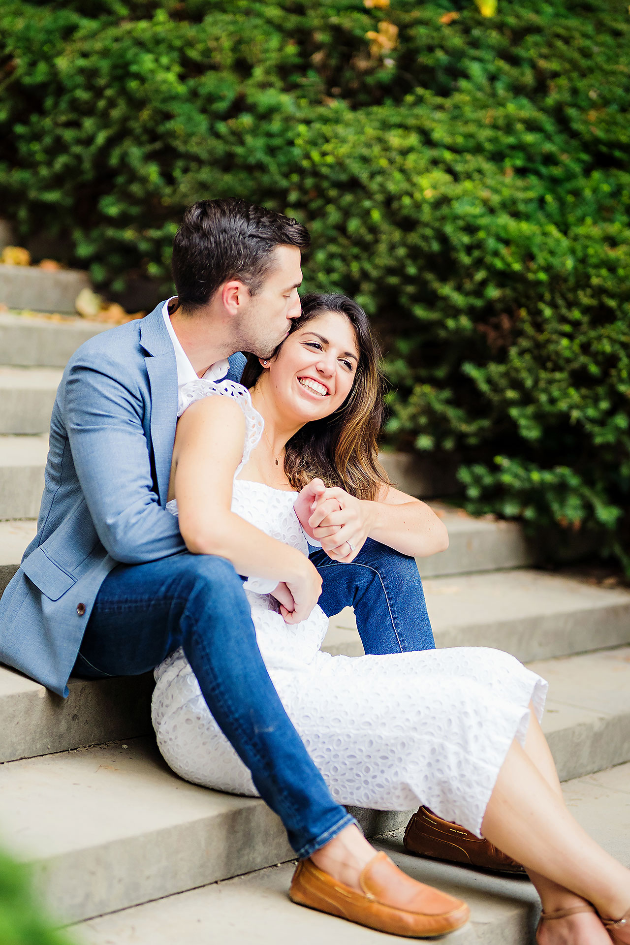 Kate Sawyer Holcomb Gardens Engagement Session 122