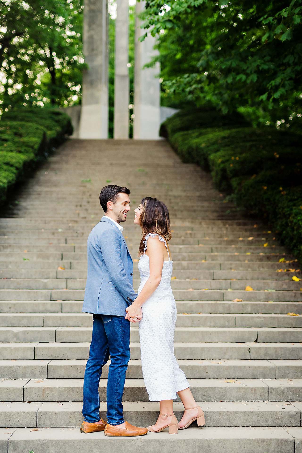 Kate Sawyer Holcomb Gardens Engagement Session 123