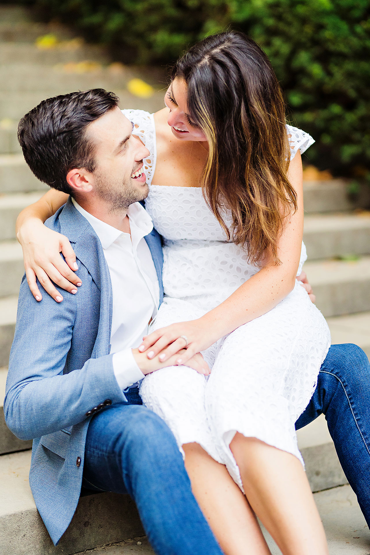 Kate Sawyer Holcomb Gardens Engagement Session 119