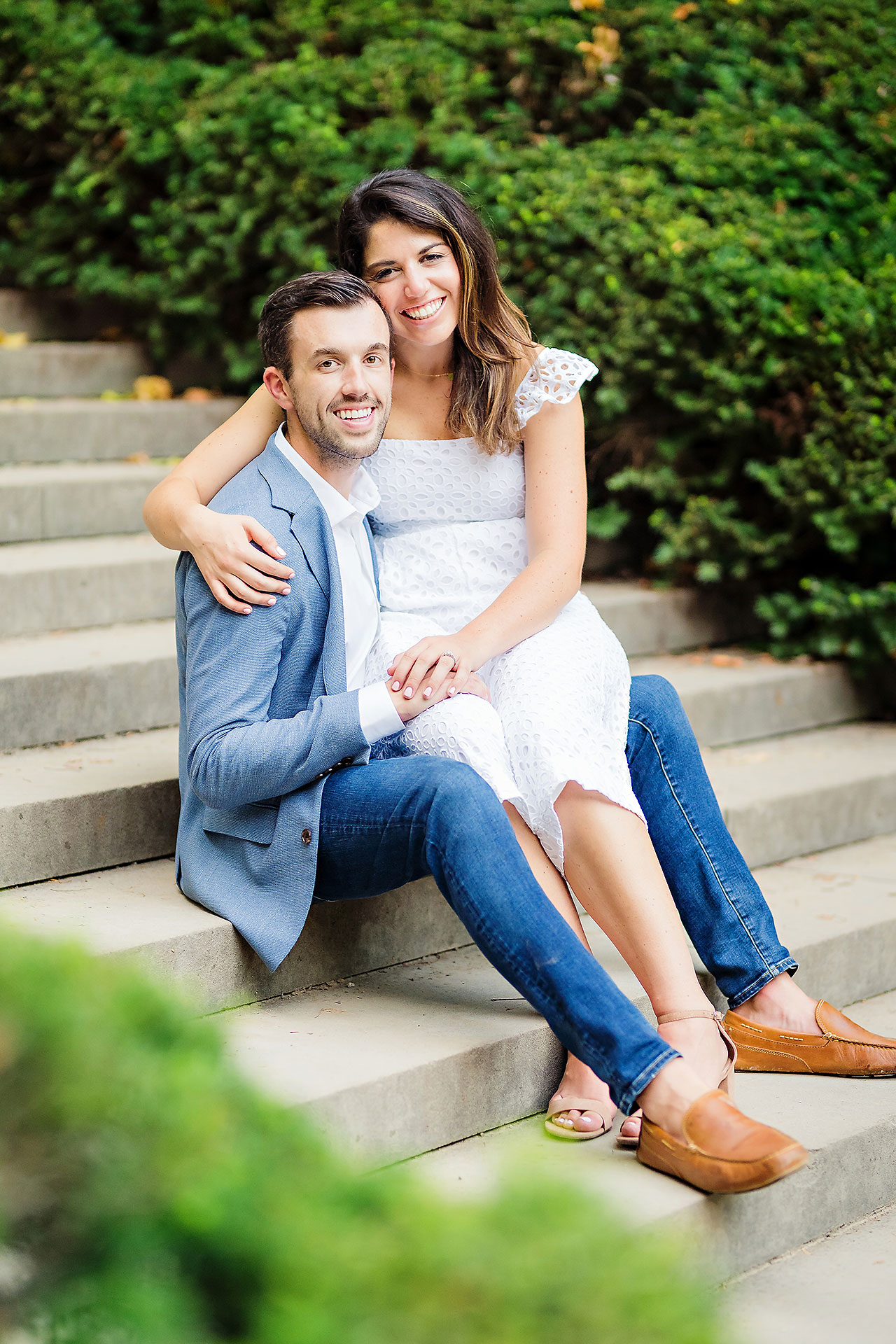Kate Sawyer Holcomb Gardens Engagement Session 116