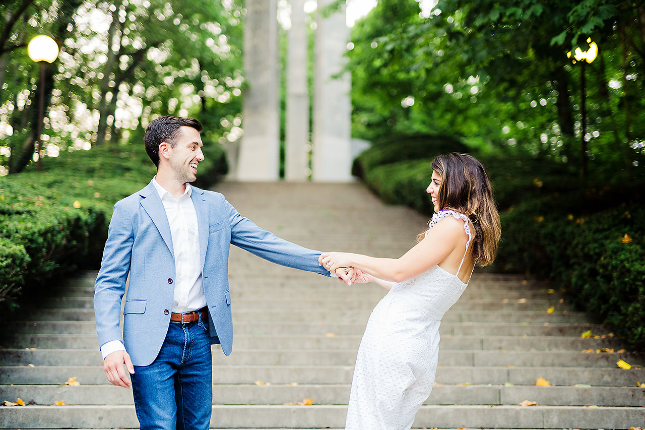 Kate Sawyer Holcomb Gardens Engagement Session 113