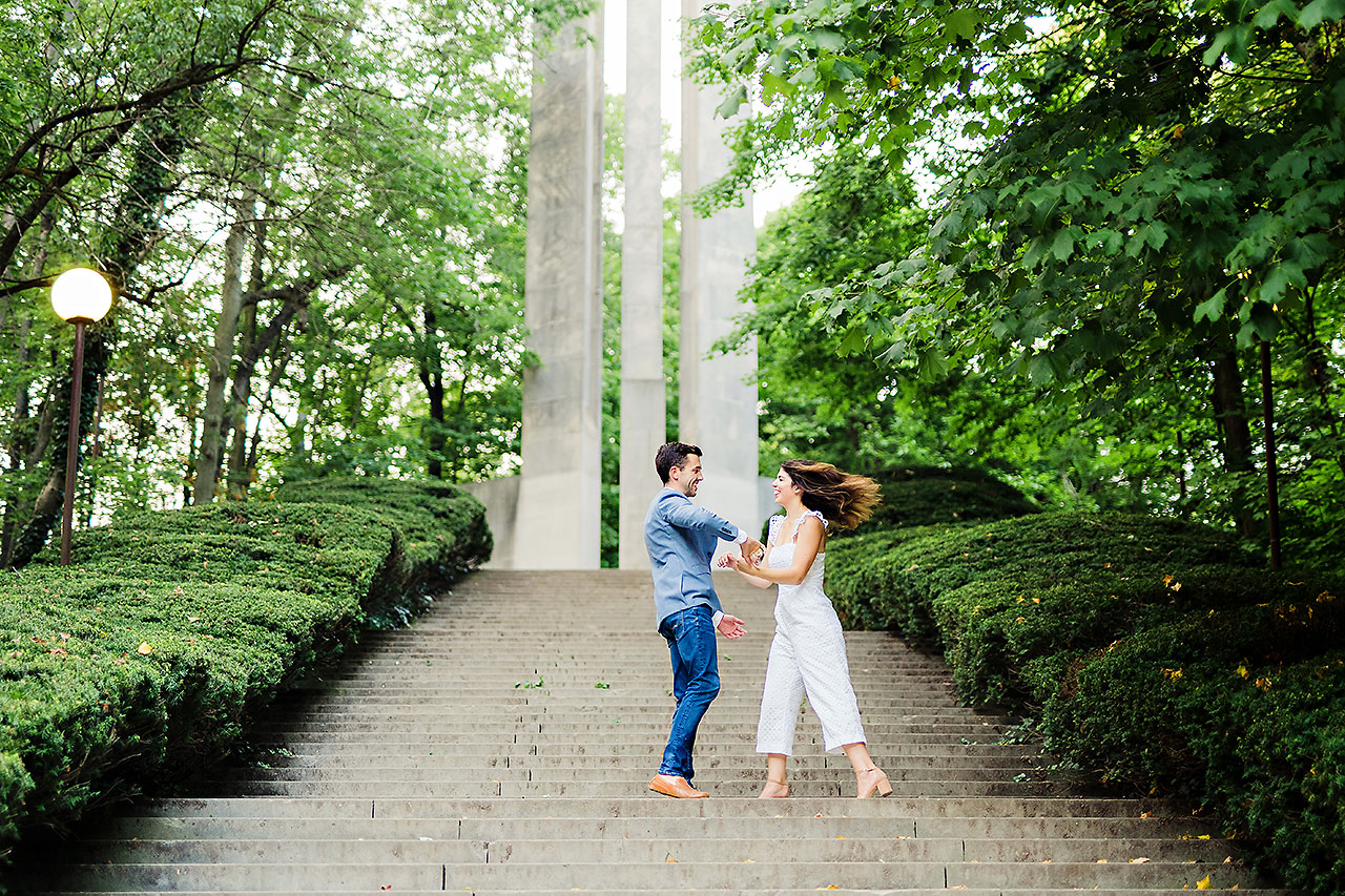 Kate Sawyer Holcomb Gardens Engagement Session 111