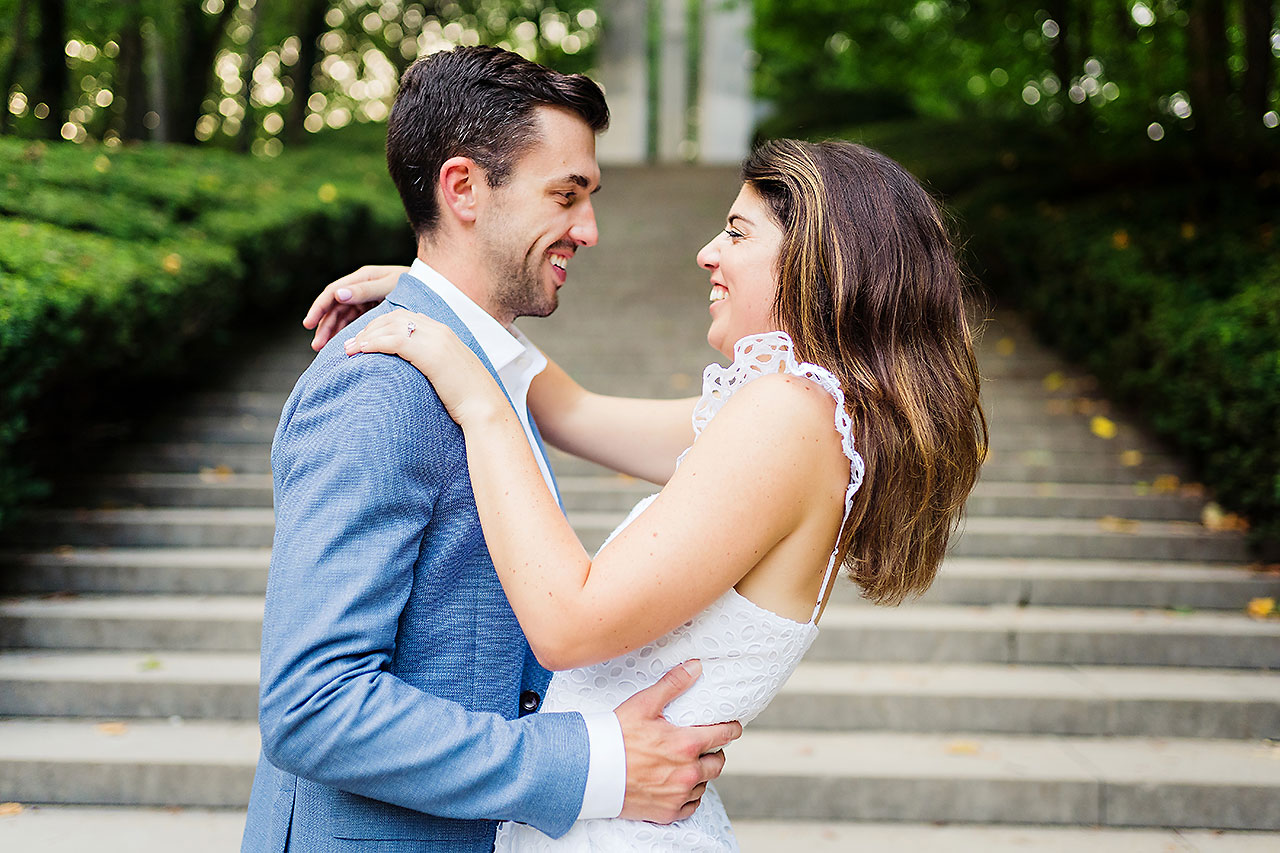 Kate Sawyer Holcomb Gardens Engagement Session 109